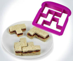 Tetris Sandwich Crust Cutter