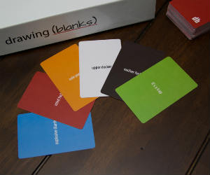 Drawing Blanks Cards