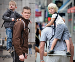 Piggyback Standing Child Carrier
