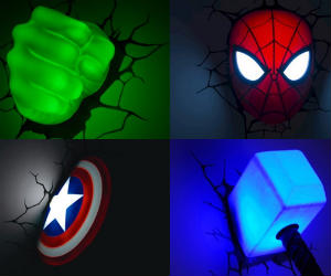 Marvel Superhero 3D Lights