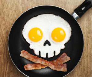 Skull Shaped Egg Mold