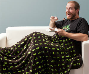 Pi Fleece Blanket