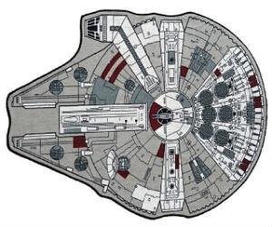 Star Wars Millenium Falcon Rug