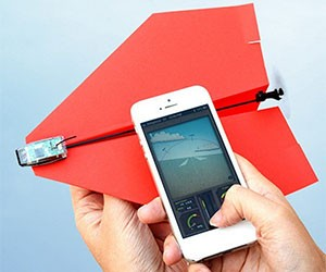 Smartphone Controlled Paper Plane