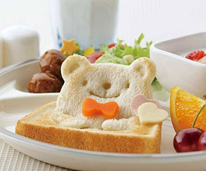 Pop Up Image Toast Cutter