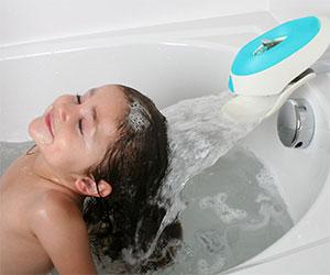 bubble bath waterfall