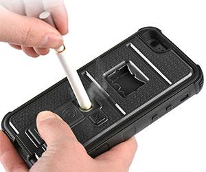 cigarette lighter multitool iphone case