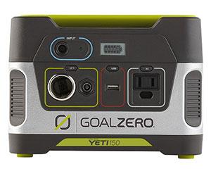 goalzero solar powered charger