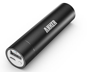 Lipstick Sized Portable Charger