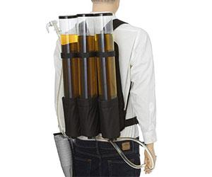 Triple Beverage Dispenser Backpack