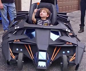 Batmobile Tumbler Stroller