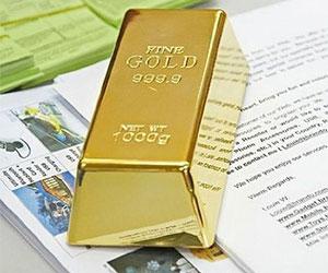 Fake Gold Bar Bullion Door Stop/Paperweight