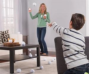 The Messless Indoor Snowballs