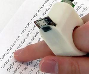FingerReader Text To Voice