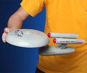 Star Trek USS Enterprise Flying Disc