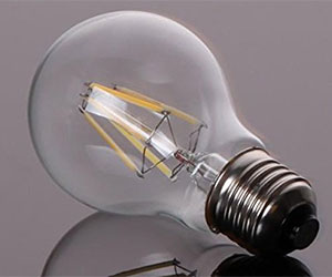 vintage retro led lightbulb