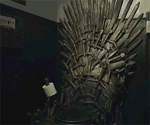 Game of Thrones Toilet