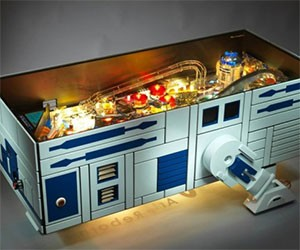 R2-D2 Pinball Machine Coffee Table