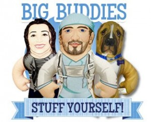 Big Buddy Pillow of Yourself