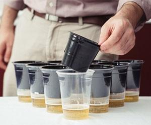 Slip Cup Clean Beer Pong