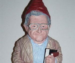 Gnome Chomsky the Garden Noam