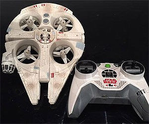 Millennium Falcon and X-Wing Drones