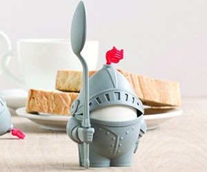 Knight Egg Cup Holder