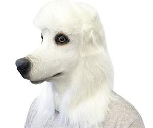 Poodle Face Mask