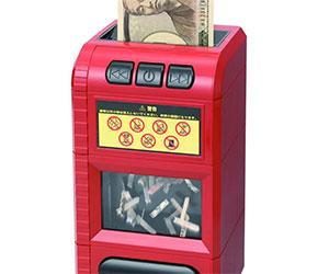 SHINE Dokkiri Piggy Bank Box Bill shredder