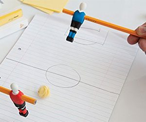 Foosball Pencil Erasers