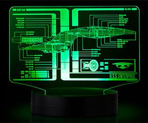Star Trek Schematic Illuminated Display