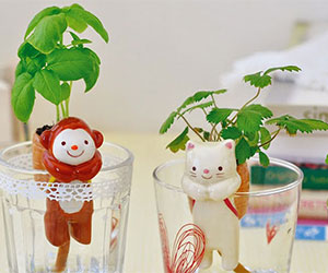 Animal Self-Watering Planters